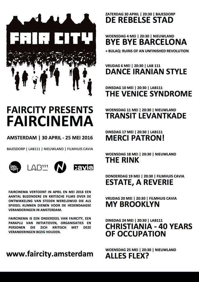 FAIRcinema poster